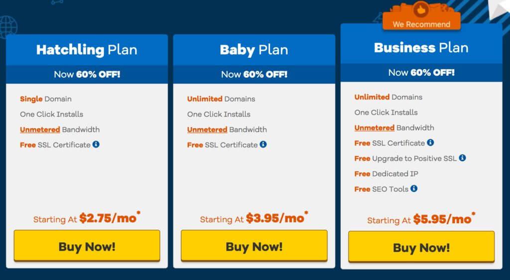 استضافة مواقع تقبل الدفع الشهري - هوست جيتور Hostgator