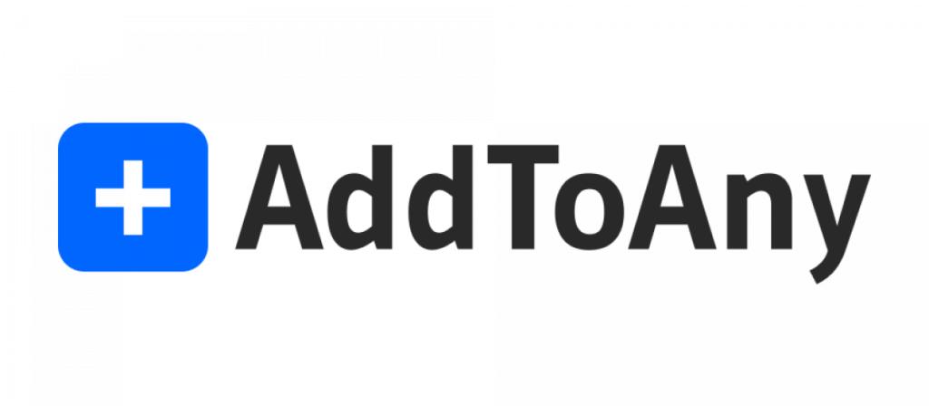 AddToAny اضافة